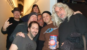 Bail hangin' out with Molly Hatchet