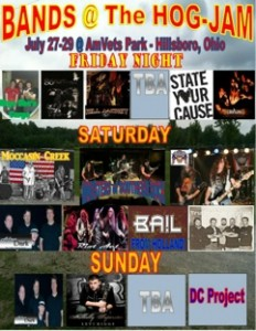 Poster Hog-Jam Festival